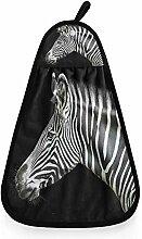 linomo Hängendes Handtuch Zebra Druck