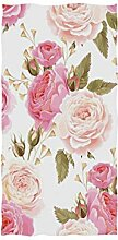 linomo Handtuch Jahrgang Blumen Blume Rose