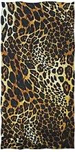 linomo Handtuch mit Leopardenmuster aus Baumwolle