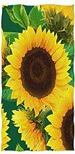 linomo Handtuch Sonnenblume Sommer Handtuch