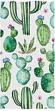 linomo Handtuch Tropisch Kaktus Blume Handtuch