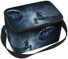 linomo Lunch Tasche Galaxis Universum Raumfahrer