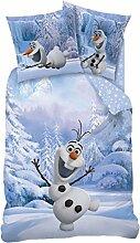 LINON KINDER WENDE BETTWÄSCHE FROZEN SNOWMAN OLAF