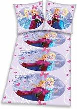 Linon-Kinderbettwäsche Die Eiskönigin Frozen