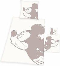 Linon-Kinderbettwäsche Mickey Mickey Mouse &