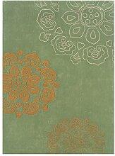 Linon Trio-Teppich aus Naturfaser, 1,10 x 2,10 cm,