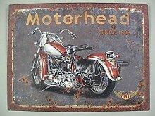 linoows Nostalgie Blechschild, Motorhead mit