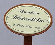 linoows Rosenschild Emaille, Strauchrose: