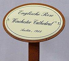 linoows Rosenschild Rosenstecker Emaille,