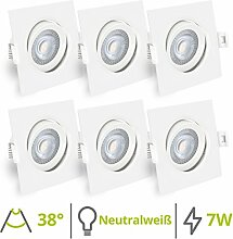 linovum® 6er Set schwenkbare LED