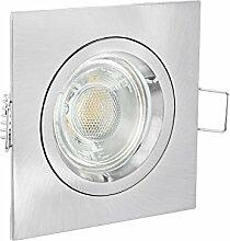 linovum® Design LED Einbaustrahler eckig