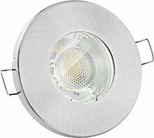 linovum® Feuchtraum LED Einbaustrahler 3W flach