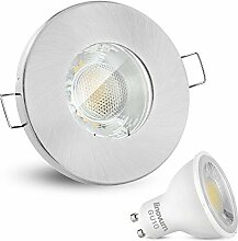 linovum® Feuchtraum LED Einbaustrahler 6W flach