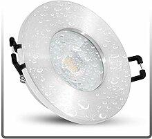 linovum ISASO Einbauspot LED flach IP65 Alu