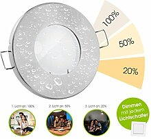 linovum® LED Bad Downlight 10er Set IP65 mit