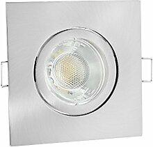 linovum® LED Einbauleuchte Einbaustrahler eckig