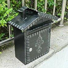 LINrxl Wandmontierte Mailbox, Briefkasten,