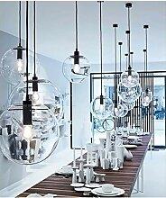 LintaiHousewares Moderne Glaskugel Deckenleuchte