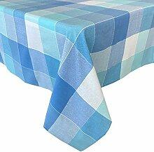 Lintex Cool Blue Cottage Tischdecke, klassisches