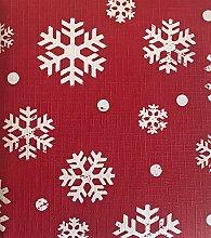 Lintex Weihnachtstischdecke mit roten