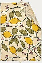 Linum Baumwollserie Zitronen Früchte