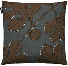 Linum Kissenhülle Blätter floral Mulholland in