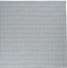 Linum Tischdecke Mitteldecke Osby Karo blau weiss kariert Farbe C42 Bauernkaro Karomuster 100*100 cm 100% Baumwolle Design by Petra Carlsten eygun