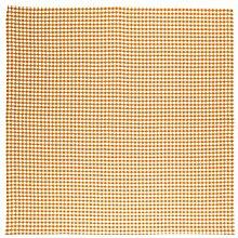 Linum Tischdecke Mitteldecke Osby Karo orange weiss kariert Farbe D06 Bauernkaro Karomuster 100*100 cm 100% Baumwolle Design by Petra Carlsten eygun