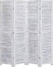 LINWXONGQP Material: Paulownia-Holz Raumteiler