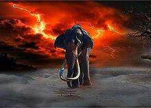 LINXIJH 5D Diamant Malerei Elefant
