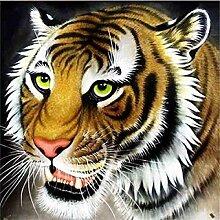 LINXIJH 5D Diamant Malerei Tiger Strass-Stickerei,