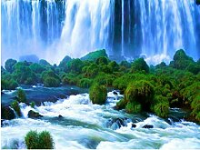 LINXIJH 5D Diamant Malerei Wasserfall