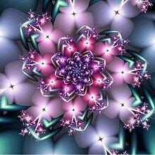 LINXIJH Diamant Malerei Kits Kreative Blumen