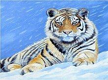 LINXIJH Diamant Malerei Kits Tiger