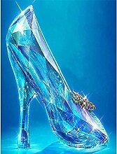 LINXIJH DIY 5D Diamant Malerei Kits Kristallschuhe