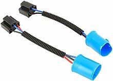 Linxiucen LS 1 Paar 9007 Stecker auf H4 Distaff