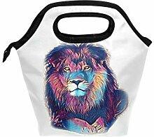 Lion Art Lunchbox/Lunchbox/Lunchbox/Handtasche mit