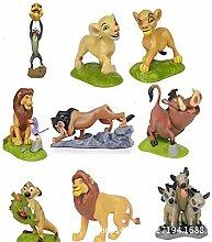 Lion King Simba Anime Modell Puppe Figuren für