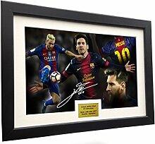 Lionel Messi 12x 8A4signiert