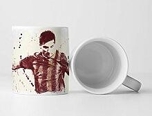 Lionel Messi FC Barcelona Tasse als Geschenk,