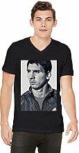 Lionel Messi Mens V-neck T-shirt XX-Large