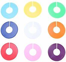 LIOOBO 18pcs runde Kleidergrößen-Teiler