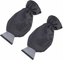 LIOOBO 2 Stück Eiskratzer Handschuh