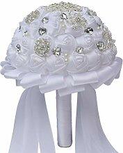 LIOOBO Hochzeit Romantischen Blumenstrauß für