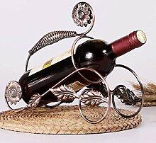 LIPENLI Einfache Eisen Weinregal Wohnzimmer Home