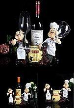 LIPENLI Europäischer Wein kreatives Weinregal