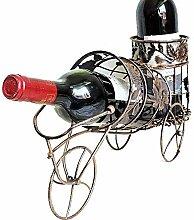 LIPENLI Europäisches Weinregal, Eisenkunst,