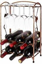 LIPENLI Retro Weinregal europäische Wein