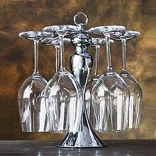 LIPENLI Weinglas Rack Rotweinglas Regal den Kopf