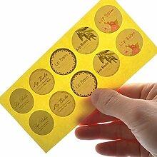 Lippenbalsam Etiketten Aufkleber für Lippenbalsam